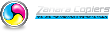Zanara Copiers Logo Small